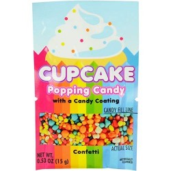 Cupcake Popping Candy Confetti 15g