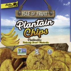 ISLE OF FRUIT CHIPS DI BANANA PLATANO DOLCI 57g