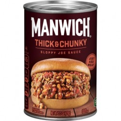 Hunts Manwich Thick and Chunky Sloppy Joe Sauce 439g