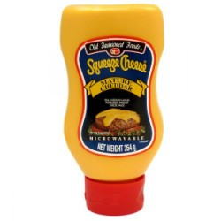 Old Fashioned Foods Squeeze Cheddar 354g