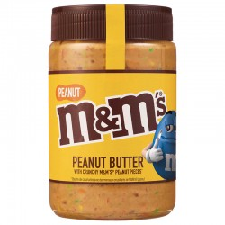 M&M's Peanut Butter Spread Crunchy M&M's Peanut Pieces 320g