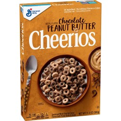 General Mills Chocolate Peanut Butter Cheerios Cereal 320g