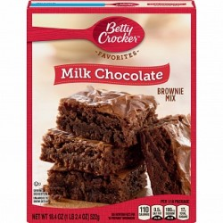 Betty Crocker Brownie Mix Milk Chocolate 522g
