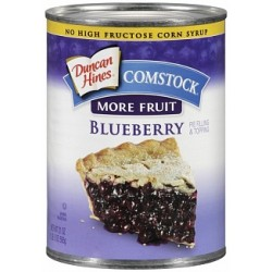 Duncan Hines Comstock Pie Filling & Topping Blueberry 595g