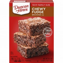 Duncan Hines Brownie Mix Chewy Fudge 520g