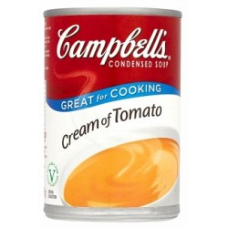 Campbell Condensed Soup Cream Of Tomato 295g
