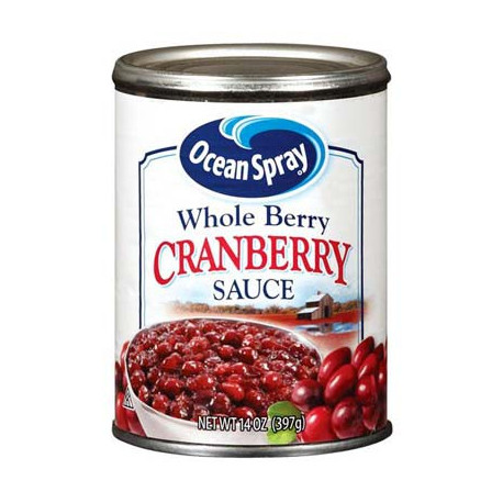 OCEAN SPRAY CRANBERRY SAUCE WHOLE BERRY 397g