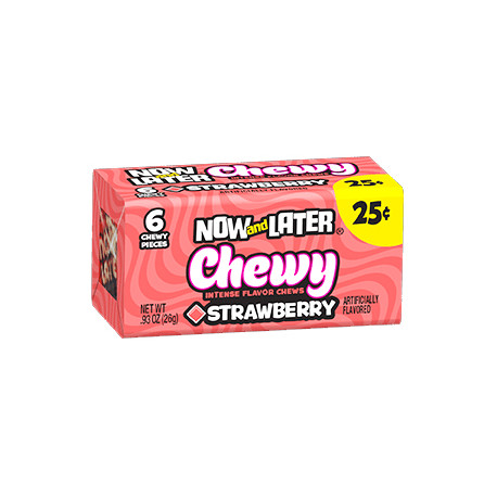 Now & Later Chewy Strawberry 26g
