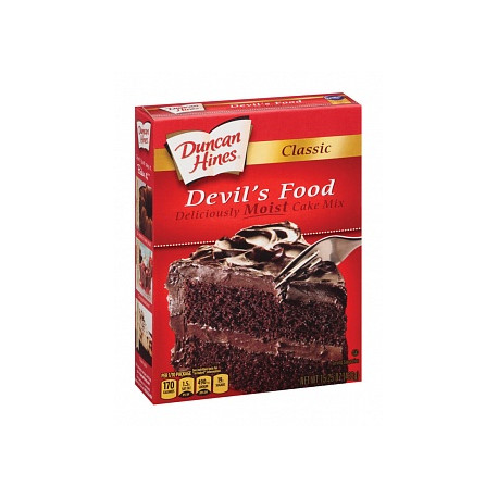 Duncan Hines Classic Devil's Food Cake Mix 432g