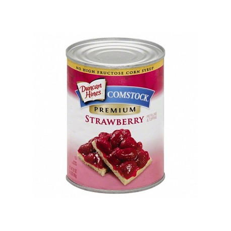 Duncan Hines Comstock Simply Strawberry Pie Filling & Topping 595g