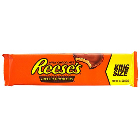 Reese's Milk Chocolate Peanut Butter Cups (King Size) 78g
