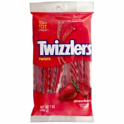 TWIZZLERS TWIST STRAWBERRY 198g