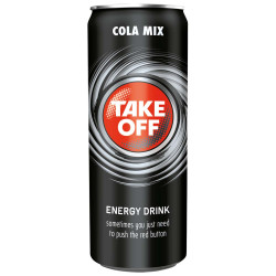 Take Off Energy Drink Cola Mix 330ml