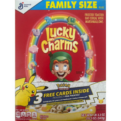 Lucky Charms Cereal Box Extra Value 422g