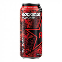 Rockstar Punched Fruit Punch 473ml