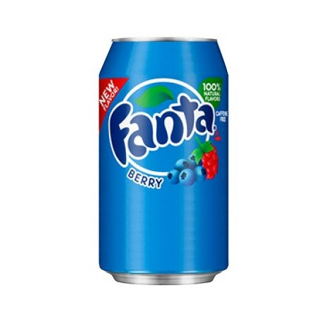 Fanta Berry Lattina 355ml - Frutti di bosco