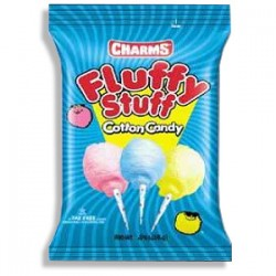 Charms Fluffy Stuff Cotton Candy (71g) - Zucchero filato in busta