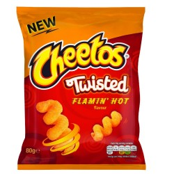 Walkers Cheetos Twisted Flamin'hot 80g