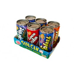Soda Can Fizzy Candy (6 mini barattoli) 42g
