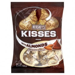 Hershey's Kisses Almond (150g) 034000134304