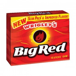 Wrigleys Big Red Gum Slim Pack 50g