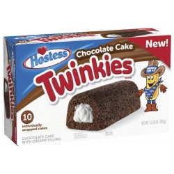 HOSTESS CHOCOLATE CAKE TWINKIES scatola da 10 385g