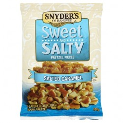 Snyder's Sweet n Salty Pretzel Pieces - Salted Caramel 100g