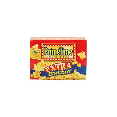 Prime Time - Extra Butter Popcorn 3 pacchi 222g
