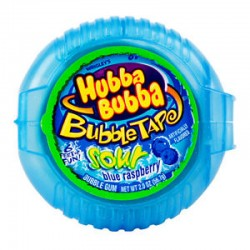 Hubba Bubba Tape Sour Blue Raspberry 56g
