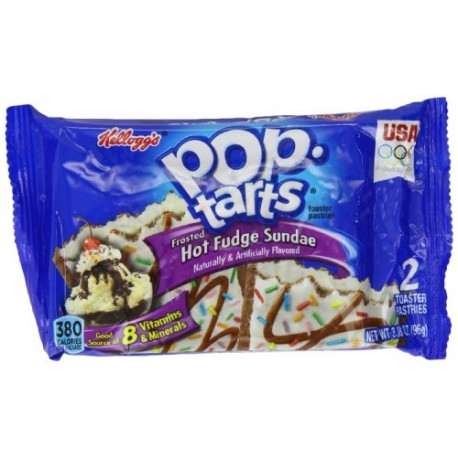 Kellogg's Pop Tarts Frosted Hot Fudge Sundae 100g